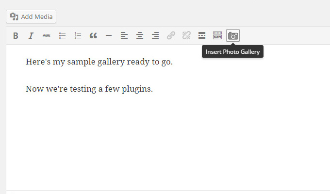 insert visual icon editor howto