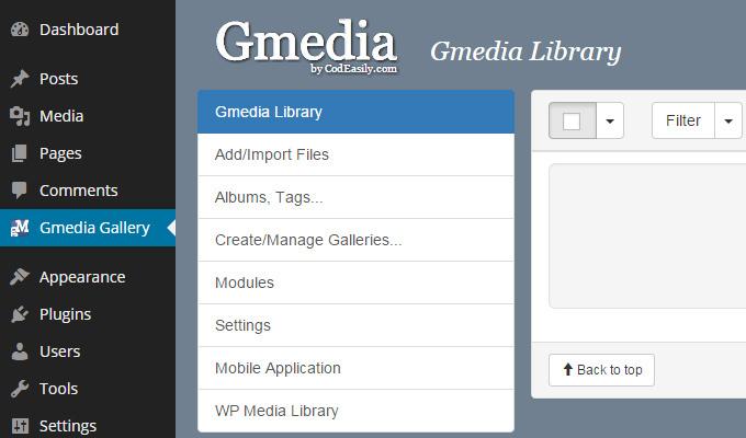 gmedia gallery plugin wordpress