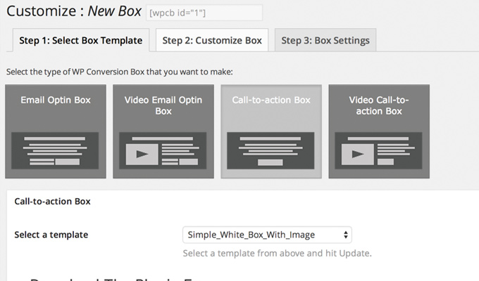 wp conversion boxes plugin wordpress