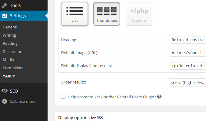 yet another related posts plugin free wp