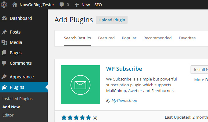 wp subscribe plugin official