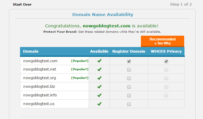domain extra info signup whois webhostinghub