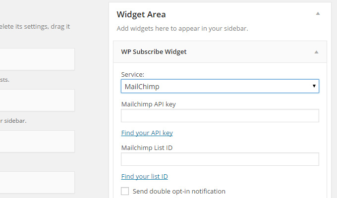 wp subscribe plugin widget wordpress