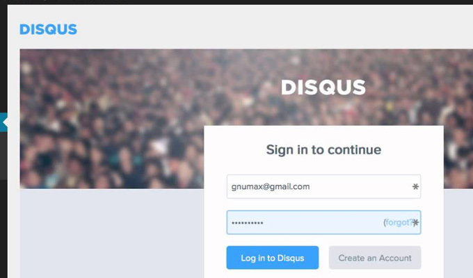 disqus wordpress comments plugin screenshot
