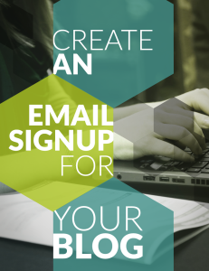 create-an-email-signup